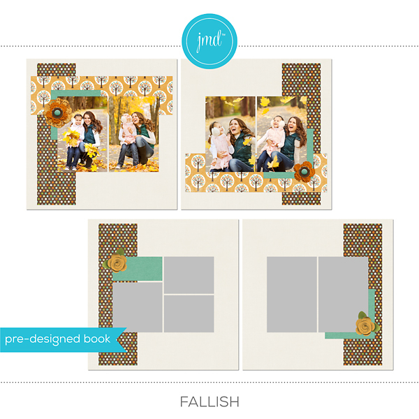 Fallish Digital Art - Digital Scrapbooking Kits