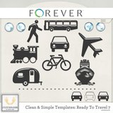 Clean And Simple Templates - Ready To Travel Bundle