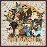 Twice As Nice - Halloween Templates
