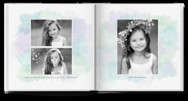 Watercolor Photo Book