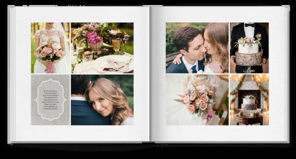 Family Monogram Photo Book