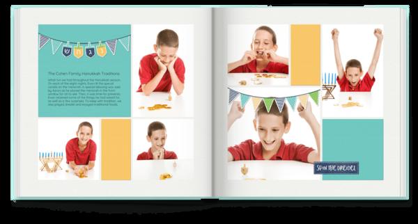 8 Nights of Hanukkah Photo Book