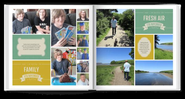 30 Days of Gratitude Photo Book