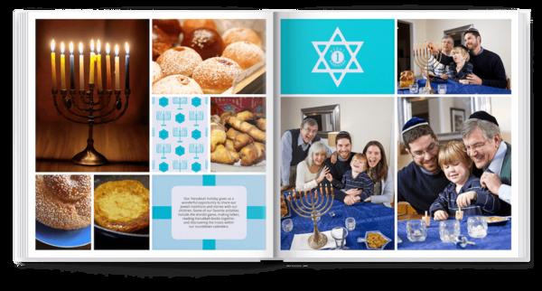 Happy Hanukkah Photo Book