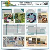 Crop Blueprints - Scrappin Safari Q3 2017 12x12