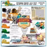 Scrappin Safari July 2017