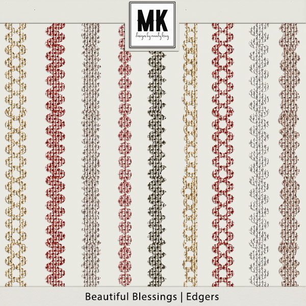 Beautiful Blessings - Edgers Digital Art - Digital Scrapbooking Kits