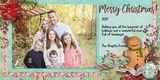 Merry Days - 8x4 Christmas Cards