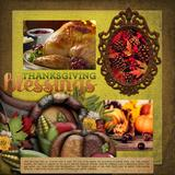 Beautifully Blended Pre-designed Editable Pages Thanksgiving Bundle