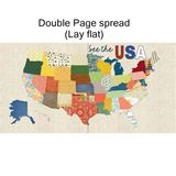 USA Map Blueprints (12x12)