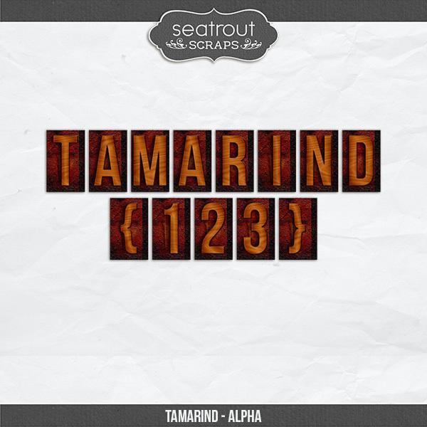 Tamarind Alpha Digital Art - Digital Scrapbooking Kits