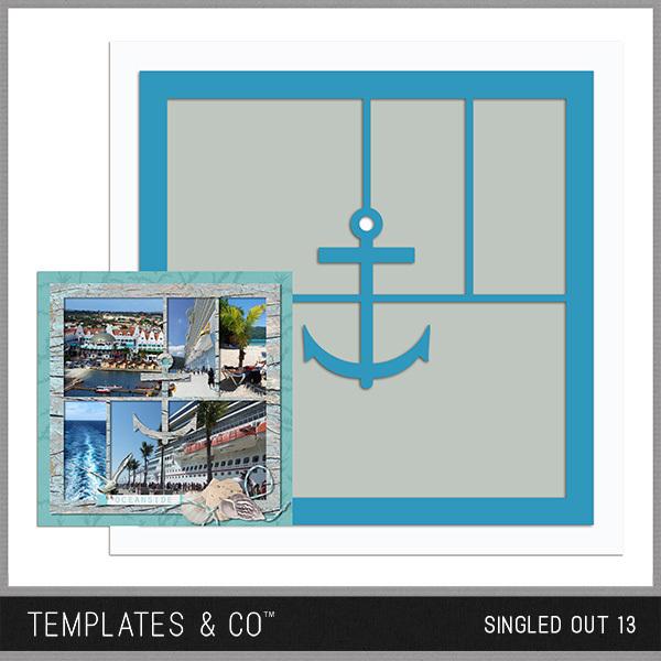 Singled Out 13 Digital Art - Digital Scrapbooking Kits