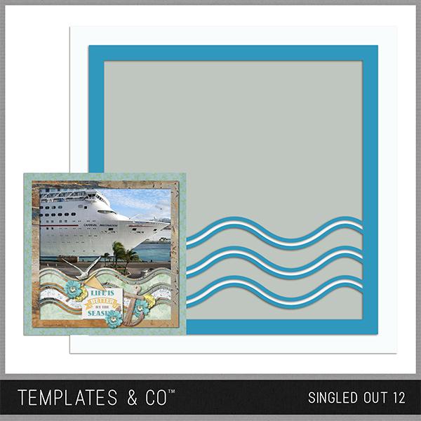 Singled Out 16 Digital Art - Digital Scrapbooking Kits