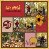 52 Weeks - October-December Book