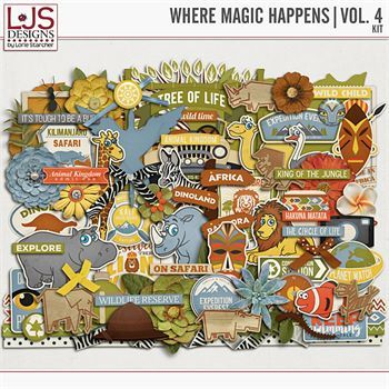 Where Magic Happens - Vol. 4 Elements