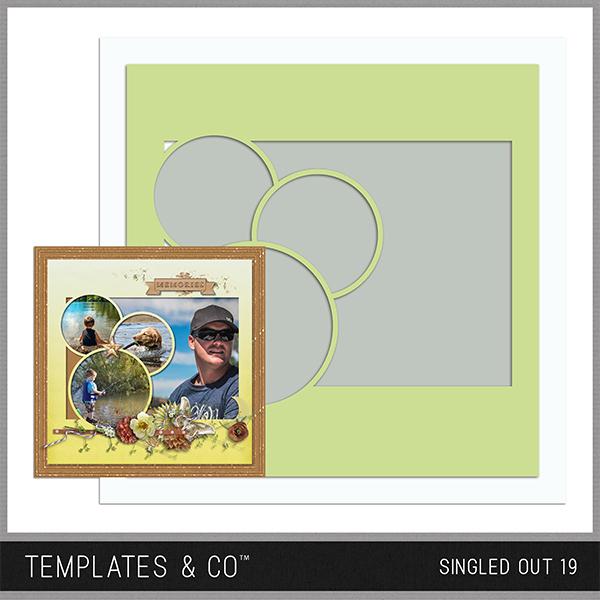 Singled Out 19 Digital Art - Digital Scrapbooking Kits