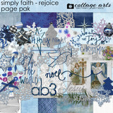 Simply Faith - Rejoice Page Pak