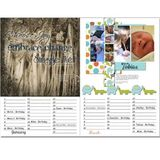 Perpetual Calendar Template 12x18