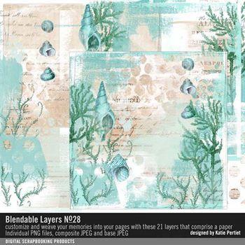 Blendable Layers No. 28 Digital Art - Digital Scrapbooking Kits