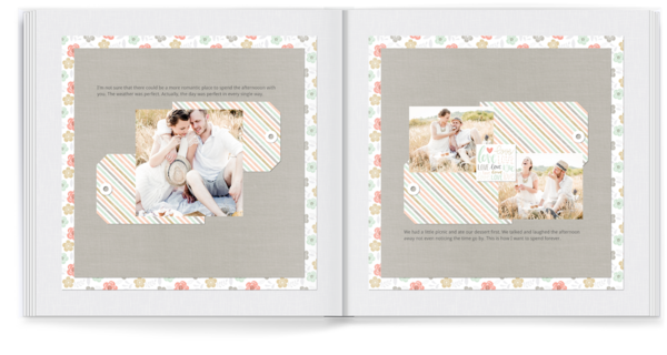 Love Story Photo Book