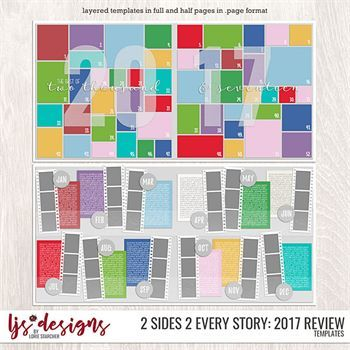 2 Sides 2 Every Story - 2017 Review