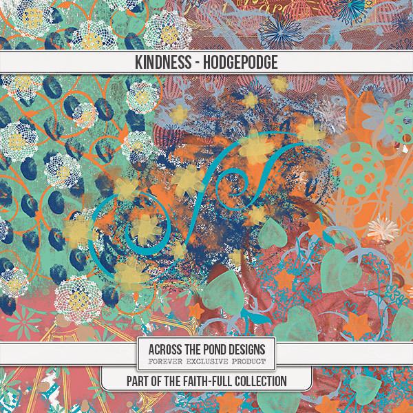 Faithfull - Kindness - Splats Digital Art - Digital Scrapbooking Kits