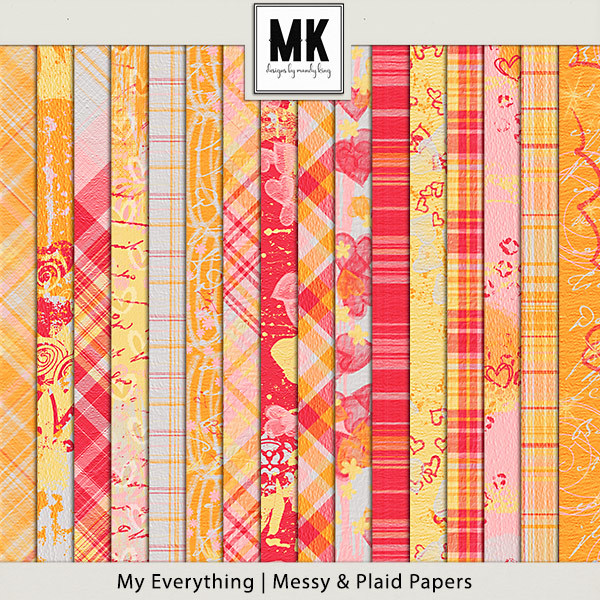 My Everything - Messy & Plaid Papers