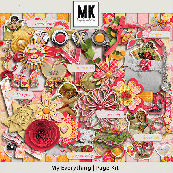 My Everything - Page Kit