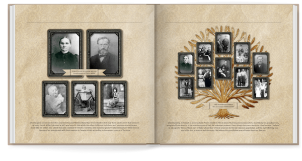 Vintage Family Memories Photo Book