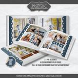 Denim Dreams Predesigned & Editable Book