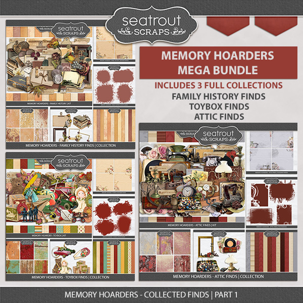 Memory Hoarders - Collected Finds Part 1