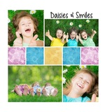 Picture Perfect - Distressed Daisies Pre-designed Book 12 X 12