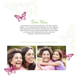 Simply Said Mom 12x12 Predesigned Pages