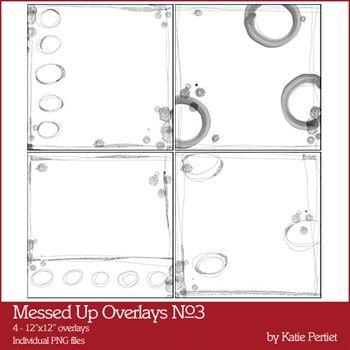 Messed Up Overlays No. 03 Digital Art - Digital Scrapbooking Kits