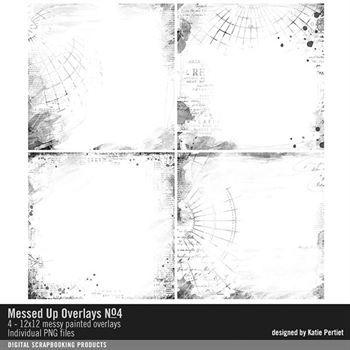 Messed Up Overlays No. 04 Digital Art - Digital Scrapbooking Kits