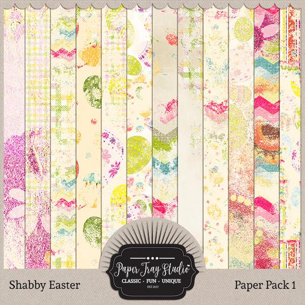 Shabby Easter - Set 1