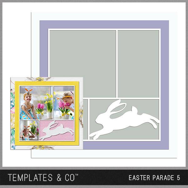 Easter Parade 5 Digital Art - Digital Scrapbooking Kits