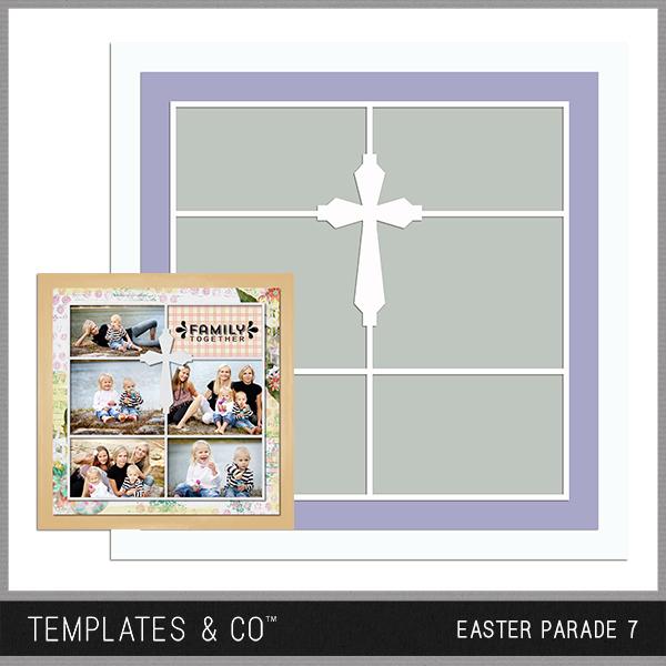 Easter Parade 7 Digital Art - Digital Scrapbooking Kits
