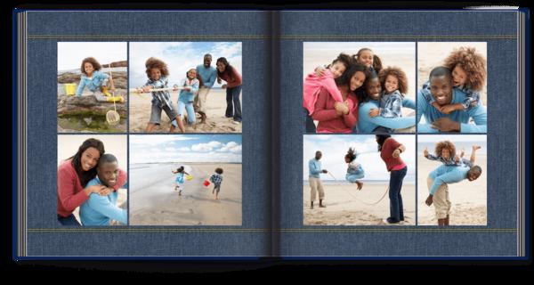 Blue Denim Photo Book