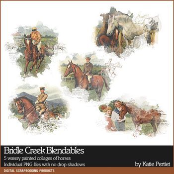 Bridle Creek Blendables Digital Art - Digital Scrapbooking Kits