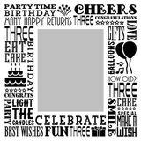 Birthday Milestones - Childhood Age 3