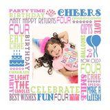Birthday Milestones - Childhood Age 4