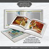 Basic Book 1 - Predesigned & Editable