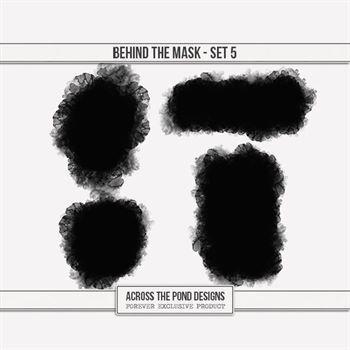 Behind The Mask - Set Five Digital Art - Digital Scrapbooking Kits