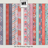 On The Breeze - Page Kit