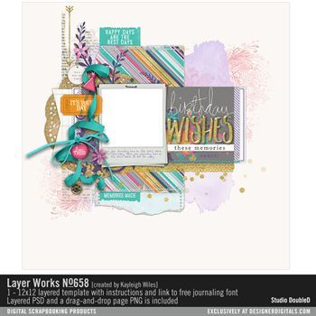 Layer Works No. 658 Layered Template