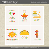 Cinco De Mayo Card Kit 4