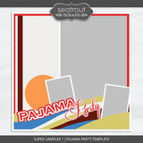 Super Sampler 1 - Pajama Party Template