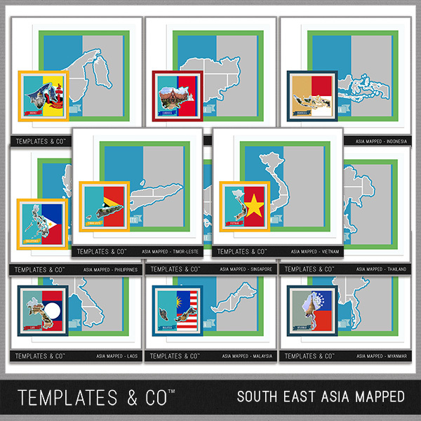 South East Asia Mapped