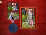 Military 11x8.5 Predesigned Pages